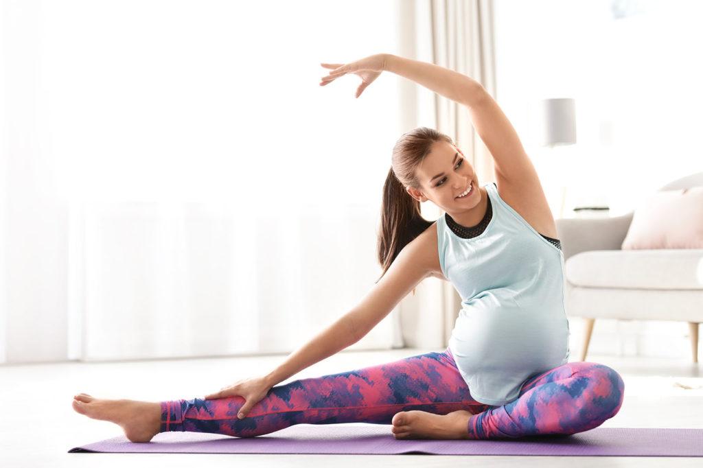 Quels exercices physiques faire à 3 mois de grossesse ?