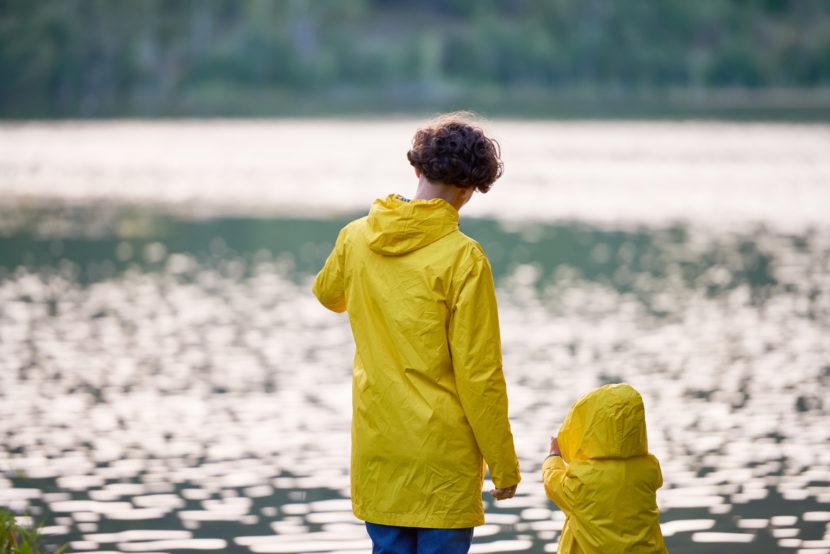 Vêtement assorti mère et fils